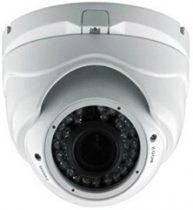 Beltéri és kültéri IP dome kamera vandálbiztos házban