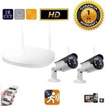 Vezeték nélküli IP kamera rendszer 2db HD WiFi kamerával