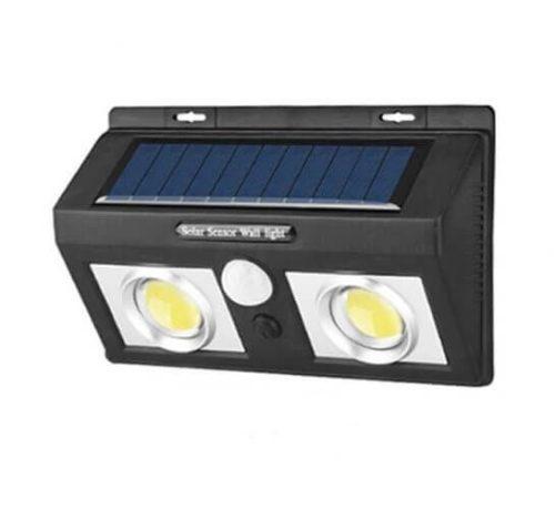 Fali napelemes lámpa kültéri mozgásérzékelős 50 db. 2 tömbledes változatban