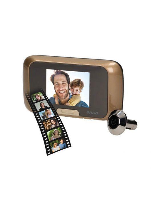 ORNO kukucskáló kamera ajtó kitekintő kamera