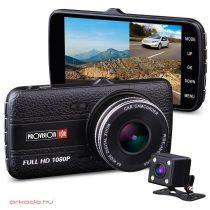 Provision-ISR  2 kamerás menetrögzítő autós kamera PR-2400CDV
