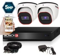 4 Megapixel 2 kamerás dome kamerarendszer AHD-20 Provision