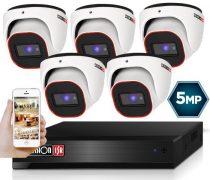 4 Megapixel 5 kamerás dome kamerarendszer AHD-20 Provision