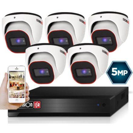5 Megapixel 5 kamerás dome kamerarendszer AHD-20 Provision