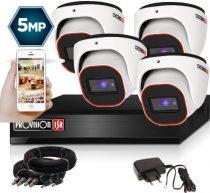 4 Megapixel 4 kamerás dome kamerarendszer AHD-30 Provision