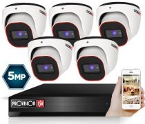 4 Megapixel 5 kamerás dome kamerarendszer AHD-30 Provision
