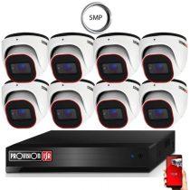 4 Megapixel 8 kamerás dome kamerarendszer AHD-30 Provision