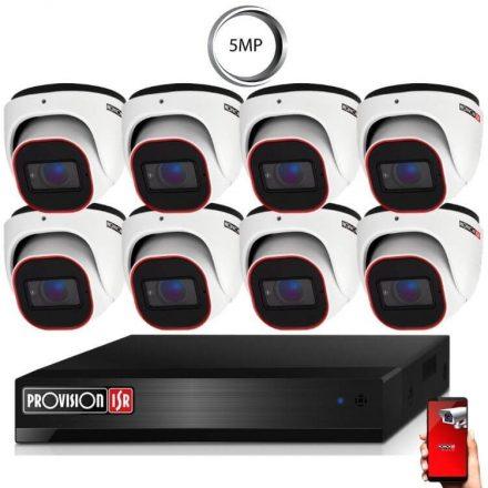 5 Megapixel 8 kamerás dome kamerarendszer AHD-30 Provision