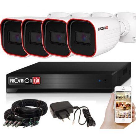 5 Megapixel 4 kamerás bullet kamerarendszer AHD-30 Provision