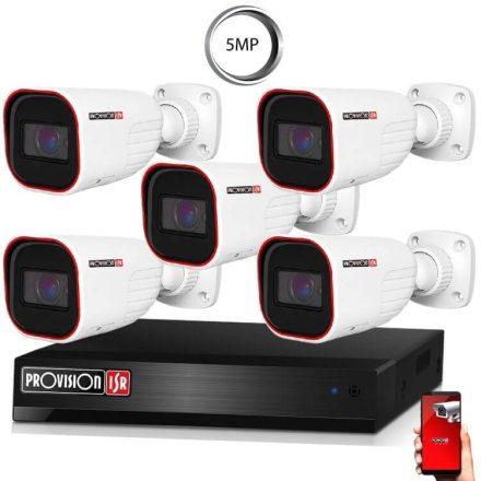 5 Megapixel 5 kamerás bullet kamerarendszer AHD-30 Provision