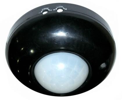 ORNO mennyezeti lámpa kapcsoló 360 fokos mozgásérzékelővel fekete