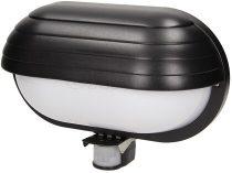ORNO mozgásérzékelős oldalfali lámpa fekete