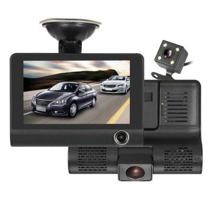 Sanlu 3 kamerás útvonal rögzítő - 3 kamerás eseményrögzítő
