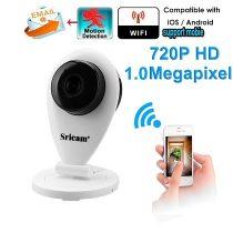 Beltéri vezeték nélküli HD WiFi IP kamera Sricam SP009