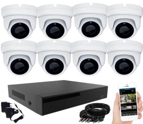 Acesee KPC Ts28 - 8 kamerás éjjellátó kamera rendszer