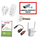 Biztonságtechnikai szerelési anyagok