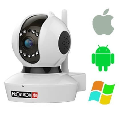 Beltéri Provision Wifi IP kamera PT737E